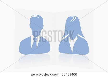 Perspective avatar couple