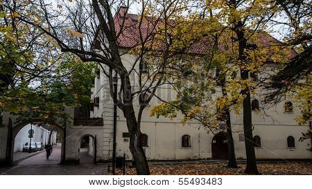 Oliwa Gdansk Old Town Church And Park