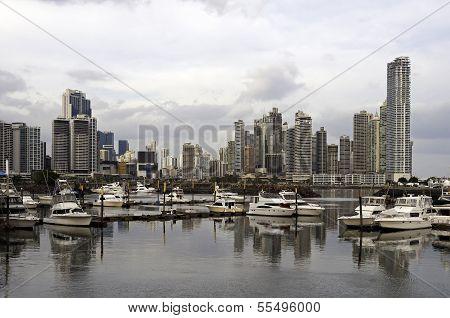 Panama City Skyline, Panama.