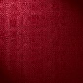red canvas background or crimson woven linen texture poster