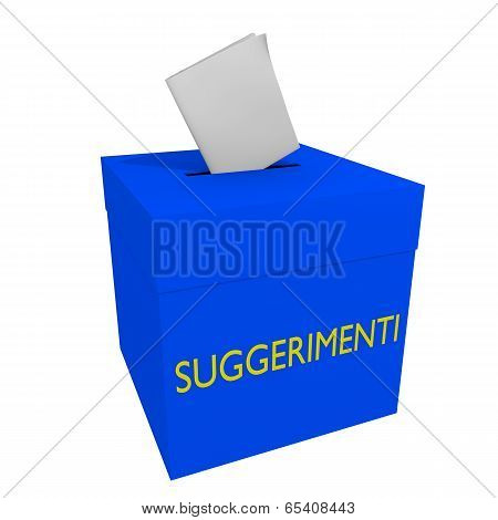 Suggestions box (IT)
