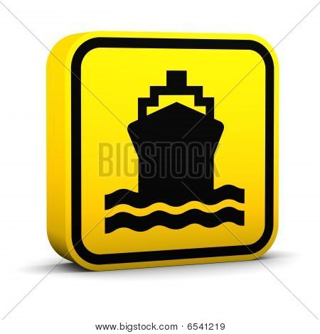 Water Transportation Sign