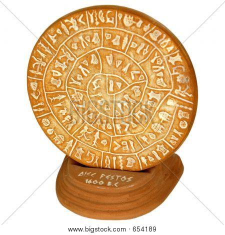 Disc Festos 1600 B.C.