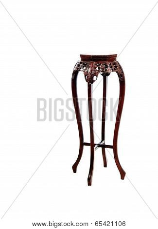 Ornate Plant And Vase Stand