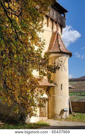 Biertan fortified tower, Transylvania
