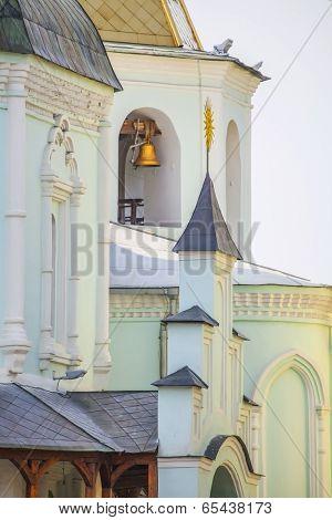 Detail of church in Kharkov.