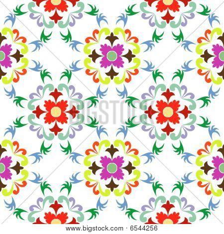 Seamless Floral Pattern 5