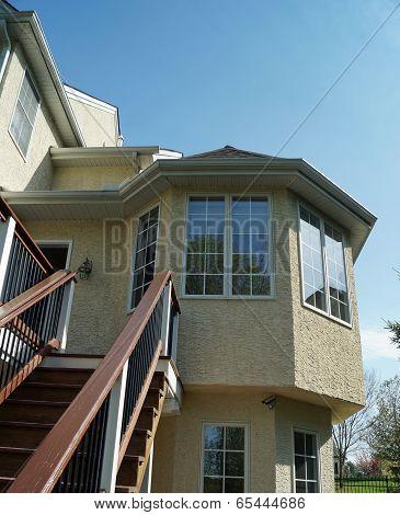 Bay Window on Luxury Home