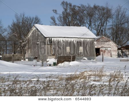 Old Barns in Iowa