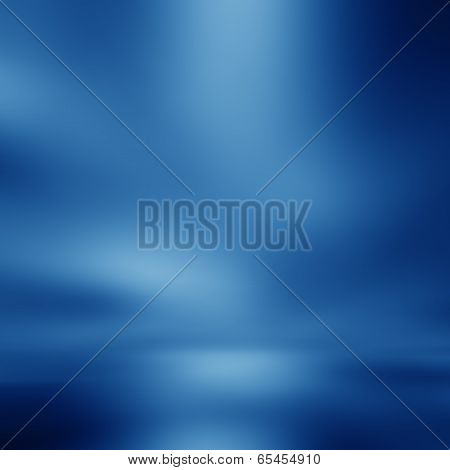 Smooth blue abstract gradient background, blue texture