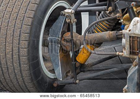 Rear Wheel Suspension