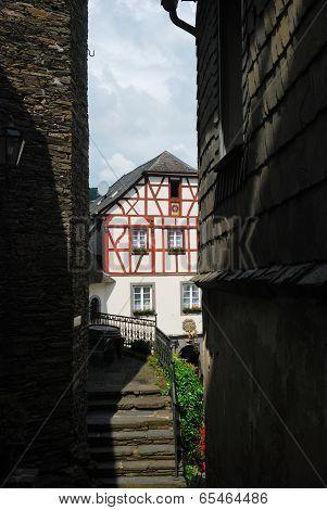 Old Steps In Lane In Beilstein