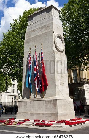 The Cenotaph In London