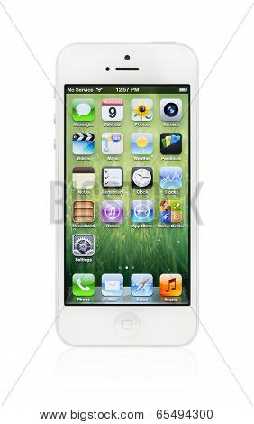 New White Apple Iphone 5