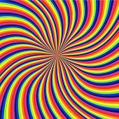 rainbow swirl texture, stock vector art illustration poster