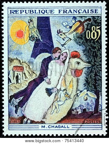 Chagall Stamp