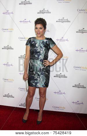 LOS ANGELES - NOV 4:  Tiffani Thiessen at the Hallmark Channel's
