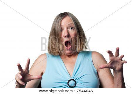 Older Woman Gets A Surprise
