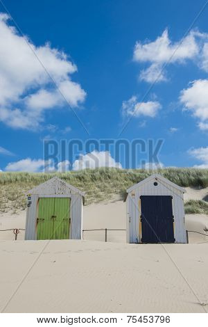 Two Cabins On The Beach