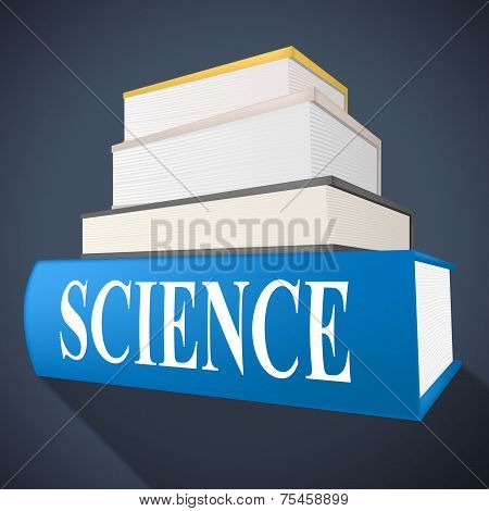 Science Book Means Chemistry Formulas And Chemist