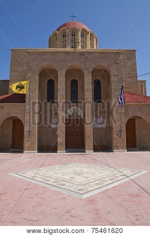 Church In Kos Town, Greece