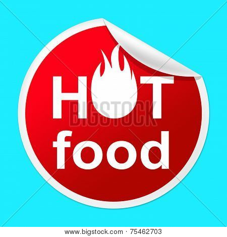 Hot Food Sticker Indicates Temperature Indicator And Best