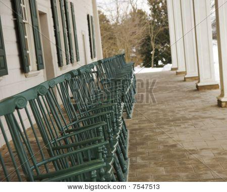 Mount Vernon Porch Chairs