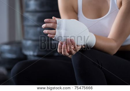 Hand In Bandage