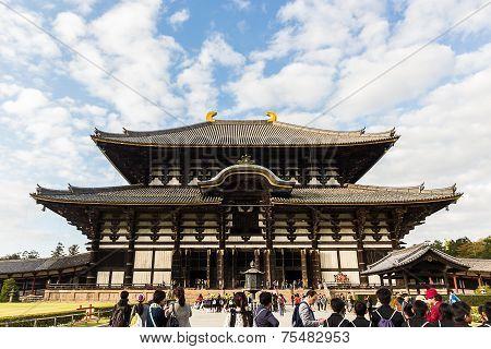 Todai-ji Temple.