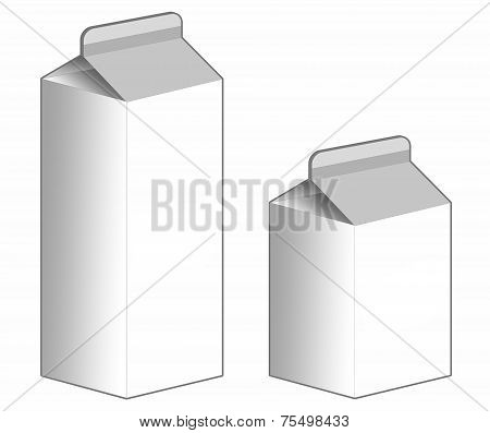 Carton Box - Stock Image