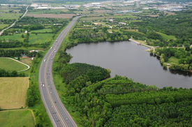 Aerial View Of Southern Ontario