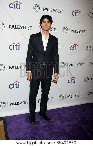 LOS ANGELES - MAR 13:  Darren Criss at the PaleyFEST LA 2015 -