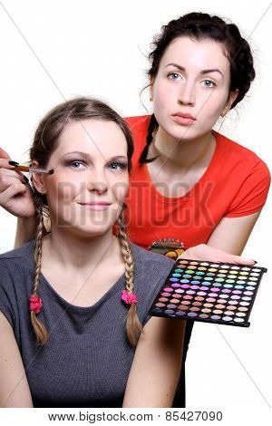 Selection Of Make-up Stylist