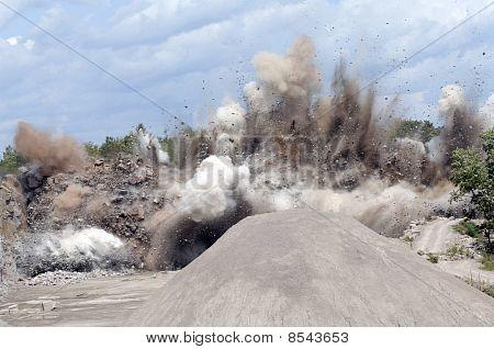 Quarry Explosion