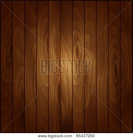 Vector texture of wooden boards. Wood background