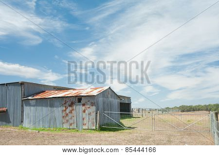 Sheds On The Farm