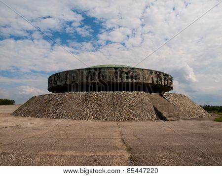 Mausoleum in Majdanek concentration camp