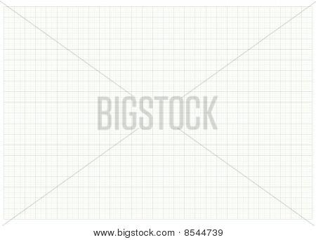 Livro verde de Milimeter gráfico