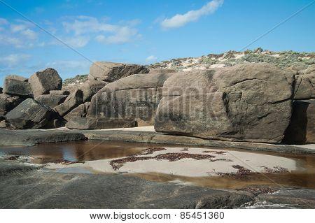 Big Rocks Of Injidup Point