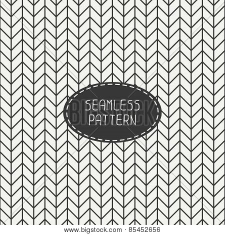 Vector retro chevron zigzag stripes geometric seamless pattern. Vintage hipster striped. For wallpap