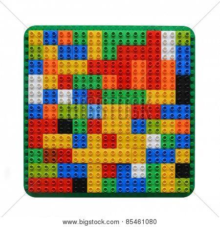 Random organised blocks