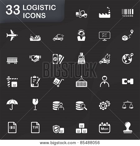 33 Logistic Icons.eps