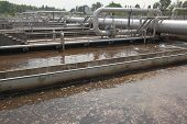 Wastewater plant poster