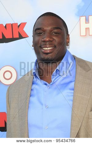LOS ANGELES - JUN 8: Donovan W Carter at the Premiere of HBO's 'The Brink' at the Paramount Theater at Paramount Studios on June 8, 2015 in Los Angeles, CA