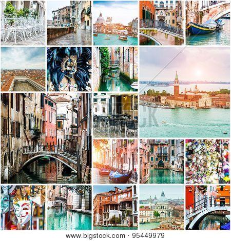Set of photos from Venice. Italy