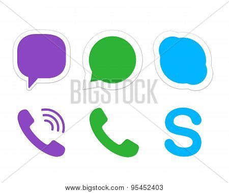 Instant messager icons