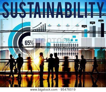 Sustainability Ecology Environment Alternative Energy Concept