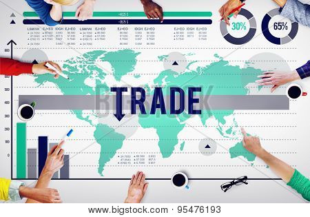 Trade Commerce Commodity Merchandise Sale Concept