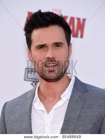 LOS ANGELES - JUN 29:  Brett Dalton arrives to the