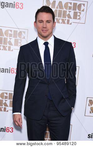 LOS ANGELES - JUN 25:  Channing Tatum arrives to the